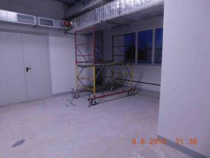 Послестроительная уборка производственного помещения